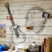 20 Collection of Guitar Metal Wall Art | Wall Art Ideas