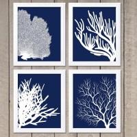 20 Best Blue and White Wall Art | Wall Art Ideas