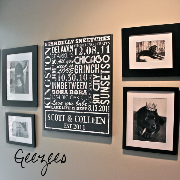 Personalized Family Name Wall Art