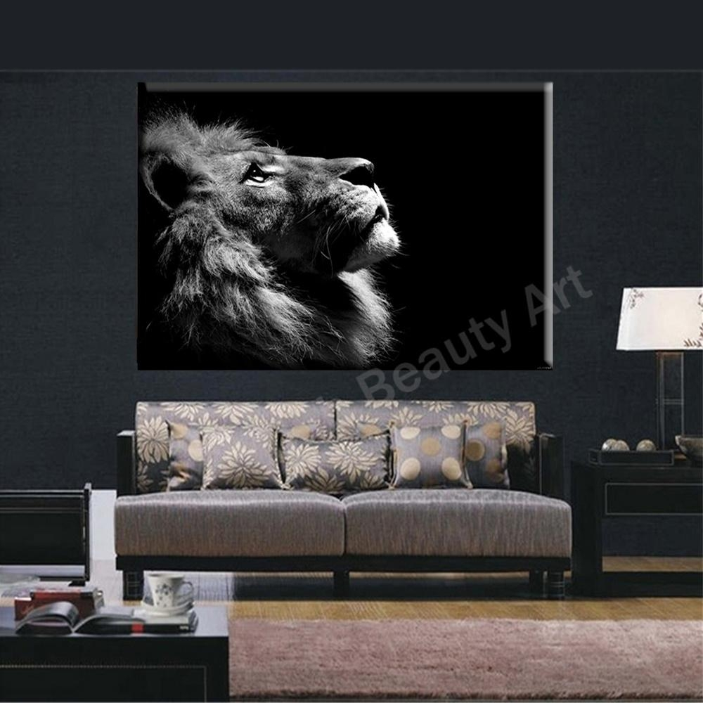The Lion Of Judah And The Lamb Of God Wall Decor Canvas Print