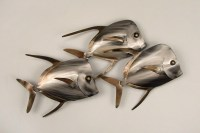 20+ Choices of Shoal of Fish Metal Wall Art | Wall Art Ideas