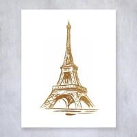 20 Collection of Paris Theme Wall Art | Wall Art Ideas