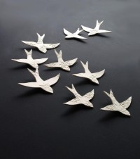 20 Best Collection of Birds in Flight Metal Wall Art ...