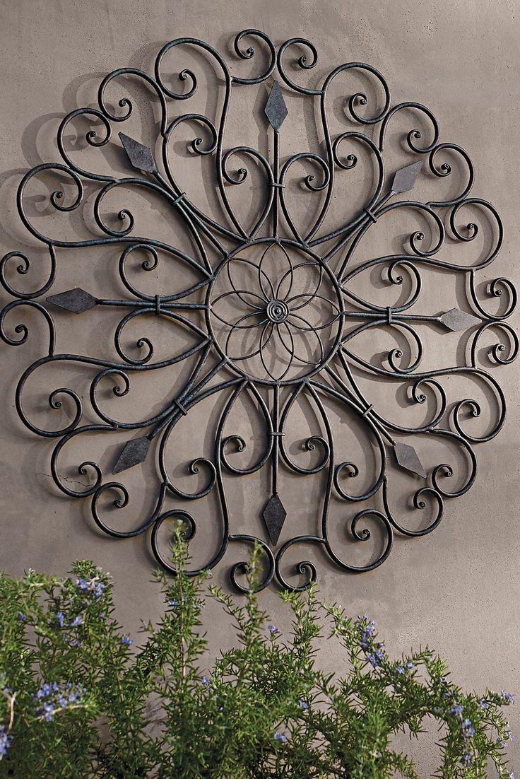 20 Ideas of Metal Large Outdoor Wall Art