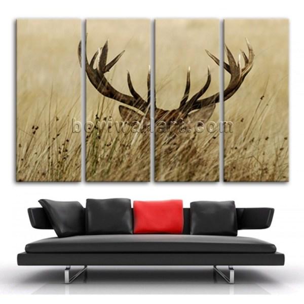 Animal Canvas Wall Art Ideas