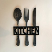 20 Best Big Spoon and Fork Wall Decor | Wall Art Ideas