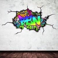 20 Top Graffiti Wall Art Stickers   Wall Art Ideas