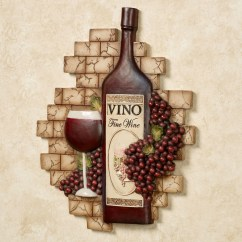 Grapes And Wine Kitchen Decor Hanging Lights Over Island 20 Inspirations Grape Wall Art Ideas