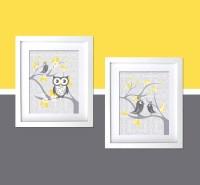 20 Photos Yellow and Grey Wall Art   Wall Art Ideas