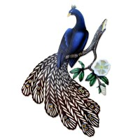 20 Photos Metal Peacock Wall Art | Wall Art Ideas