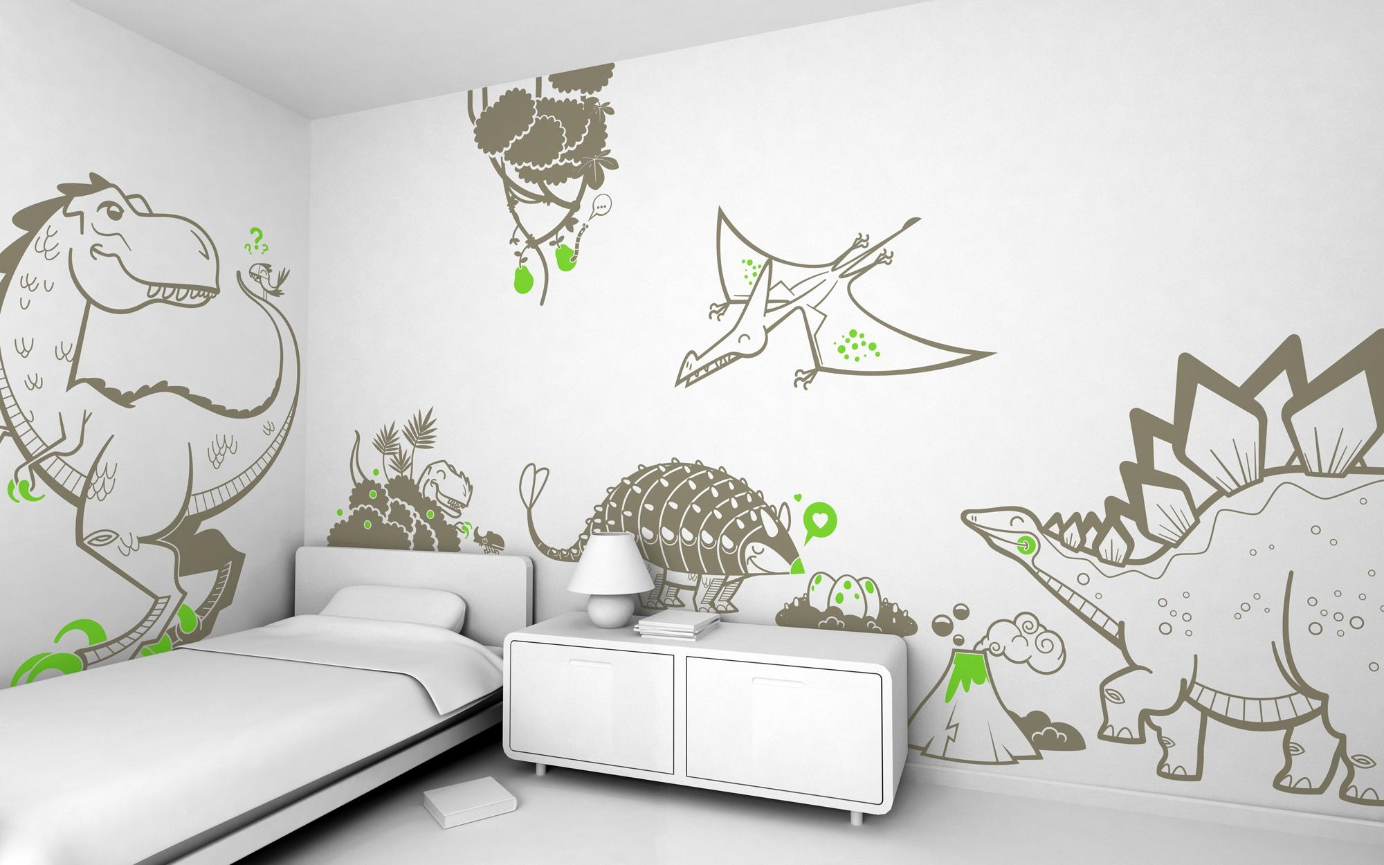 20 Choices Of Wall Art Stickers For Childrens Rooms