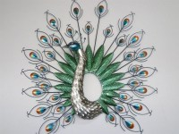 Peacock Wall Art | Wall Plate Design Ideas