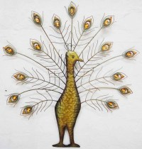 20 Photos Metal Peacock Wall Art | Wall Art Ideas
