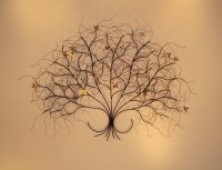 20 Best Collection of Metal Tree Wall Art Sculpture   Wall ...
