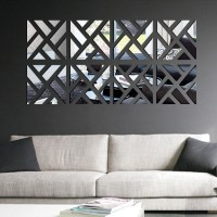 2018 Latest Wall Art Mirrors Contemporary