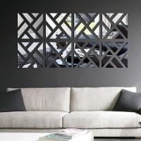 2018 Latest Wall Art Mirrors Contemporary | Wall Art Ideas
