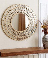 20 Ideas of Small Round Mirrors Wall Art | Wall Art Ideas