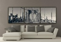 20 Photos Black and White New York Canvas Wall Art