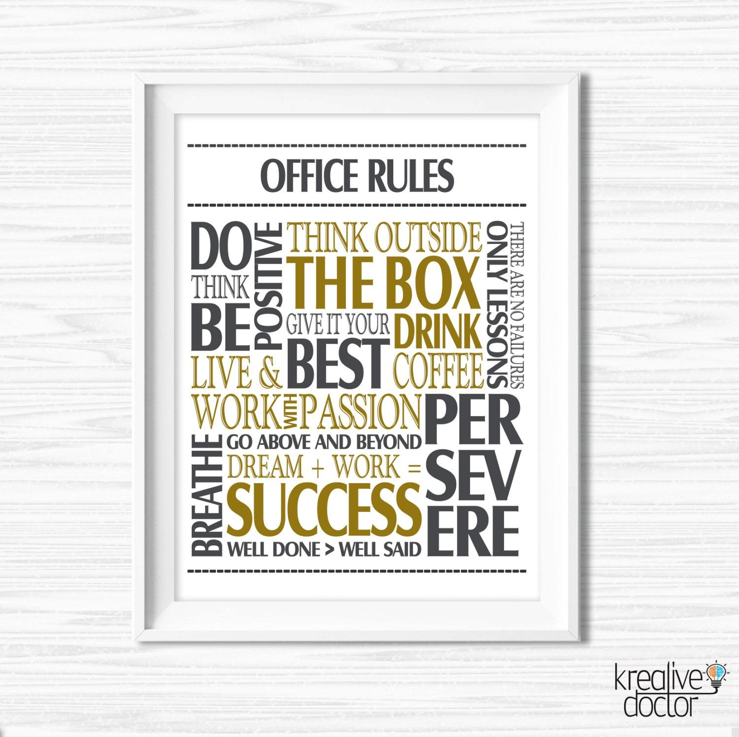 choices of inspirational wall art for office wall art ideas