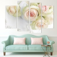 20 Photos Rose Canvas Wall Art | Wall Art Ideas