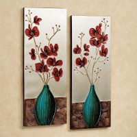 20 Best Collection of Teal Flower Canvas Wall Art | Wall ...