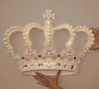 20 Ideas of Princess Crown Wall Art