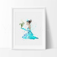 20 Collection of Disney Princess Framed Wall Art