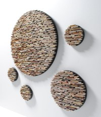 20 Top Recycled Wall Art | Wall Art Ideas