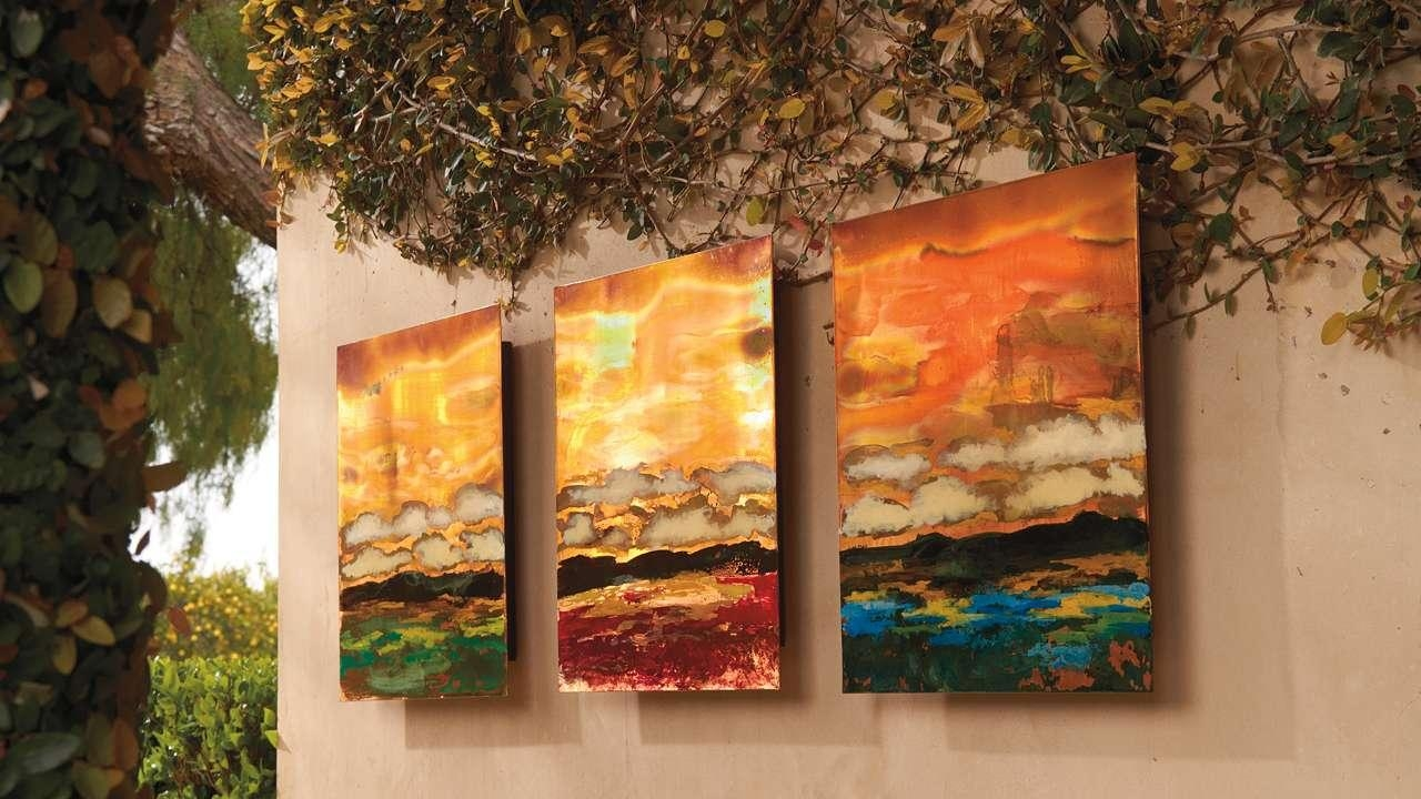 20 Best Collection Of Copper Outdoor Wall Art