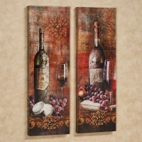 2018 Latest Wine Theme Wall Art | Wall Art Ideas