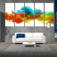 20 Collection of Colorful Abstract Wall Art | Wall Art Ideas
