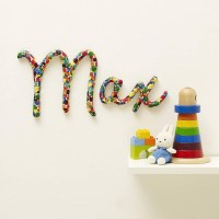 20 Best Collection of Personalized Baby Wall Art   Wall ...