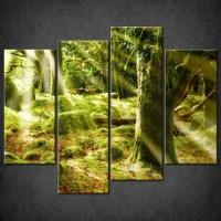 20 Photos Green Canvas Wall Art