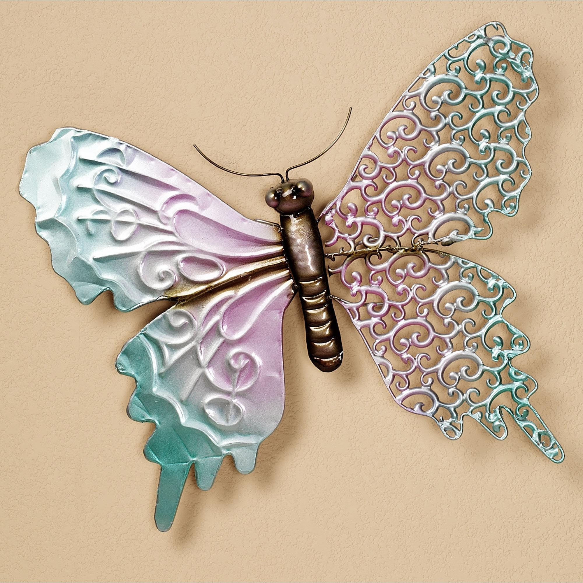 20+ Choices of Large Metal Butterfly Wall Art