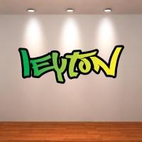 20 Inspirations Personalized Graffiti Wall Art | Wall Art ...