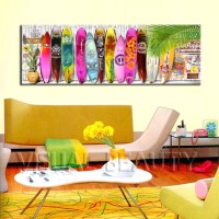 20 Collection of Decorative Surfboard Wall Art | Wall Art ...