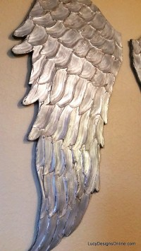 20 Collection of Angel Wings Wall Art | Wall Art Ideas