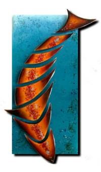 20 Best Ideas Fused Glass Fish Wall Art | Wall Art Ideas