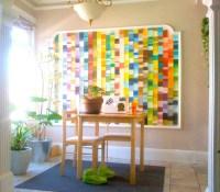 20 Inspirations Paint Swatch Wall Art