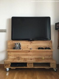 Pallet Wood Tv Stand | Droughtrelief.org