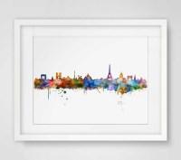 20 Photos Map of Paris Wall Art | Wall Art Ideas