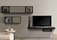 20 Inspirations White Wall Mounted Tv Stands | Tv Cabinet ...