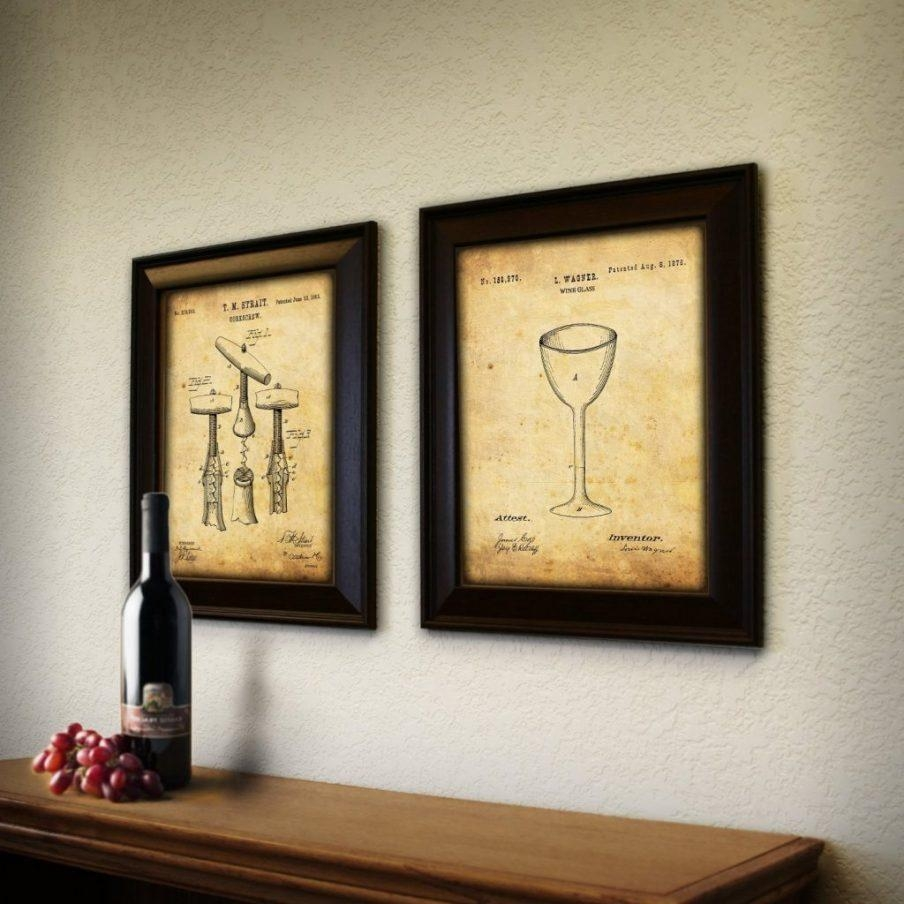 20 Ideas of Wine Themed Wall Art