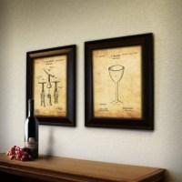 20 Ideas of Wine Themed Wall Art