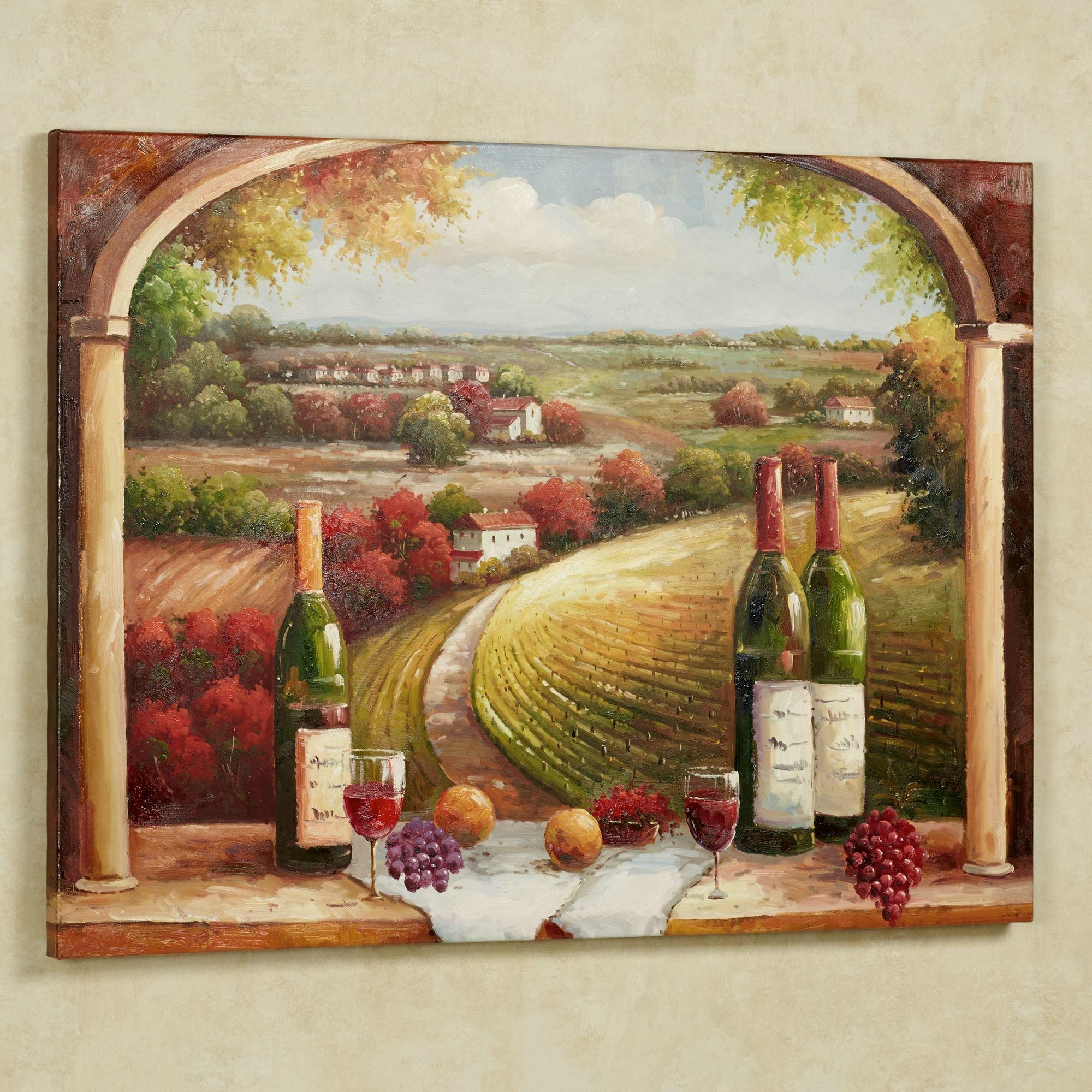 kitchen wall murals industrial lighting 20 collection of italian art for ideas