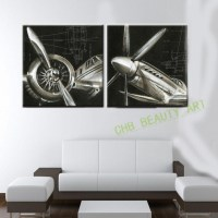 20 Collection of Metal Airplane Wall Art   Wall Art Ideas