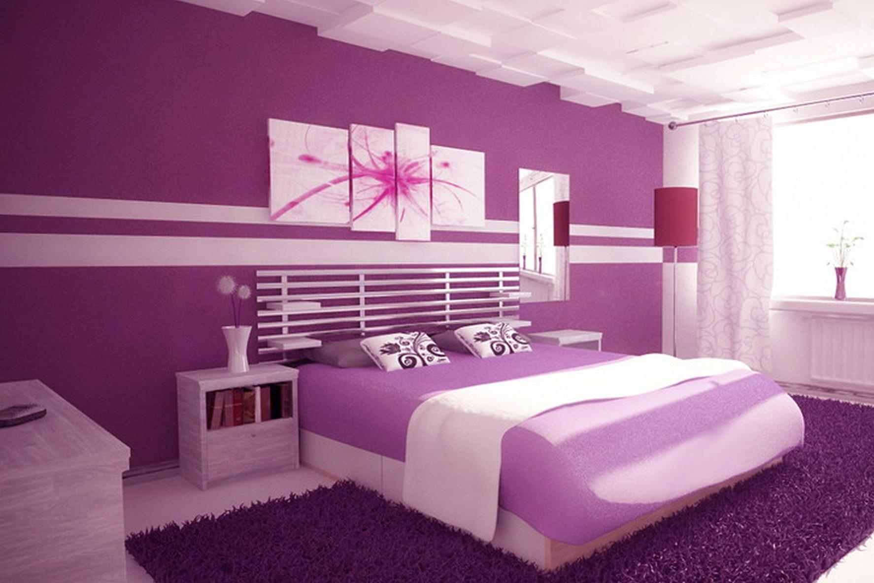 20 Best Collection of Purple Wall Art for Bedroom  Wall