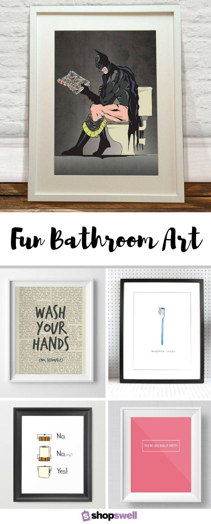 20 Collection of Art for Bathrooms Walls  Wall Art Ideas
