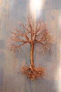 2018 Latest Copper Oak Tree Wall Art   Wall Art Ideas