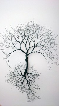 20 Collection of Iron Tree Wall Art | Wall Art Ideas